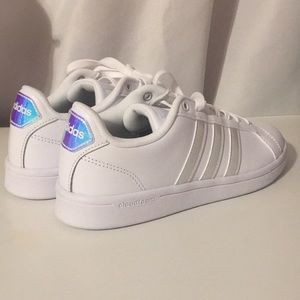 Adidas holographic/iridescent shoes